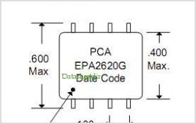 EPA2620 pinout,Pin out