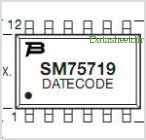 SM75719 pinout,Pin out