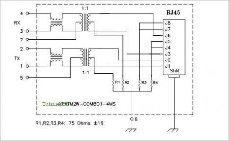 XFATM2W-C1-4MS pinout,Pin out