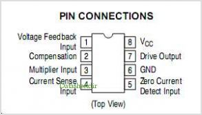 MC34262 pinout,Pin out