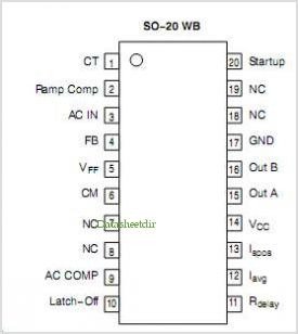 NCP1652 pinout,Pin out