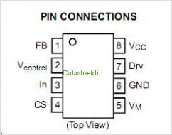 NCP1653A pinout,Pin out