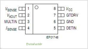 TDA4862 pinout,Pin out