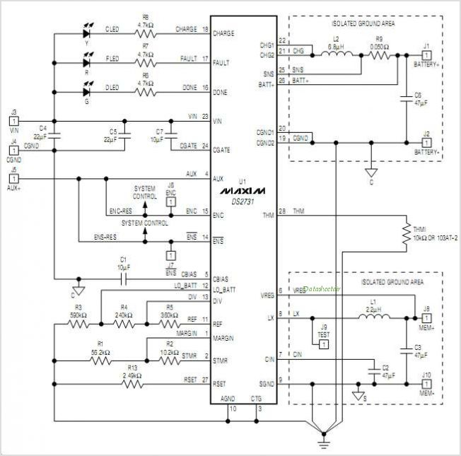 DS2731 circuits