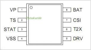 AAT3680ITP-4.2-T1 pinout,Pin out