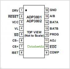 ADP3802 pinout,Pin out