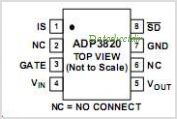 ADP3820 pinout,Pin out