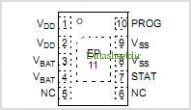 MCP73113 pinout,Pin out
