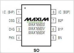 MAX1665S pinout,Pin out
