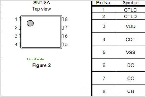 S-8209B pinout,Pin out