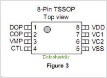 S-8253A pinout,Pin out