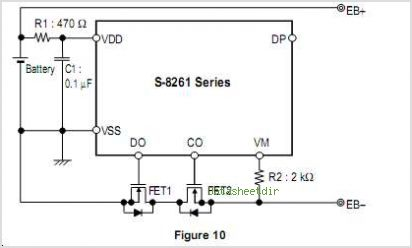 S-8261ABBMD-G3BT2G circuits