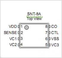 S-8264BAA-I8T1G pinout,Pin out