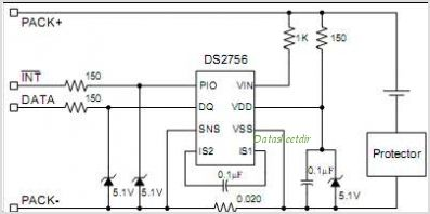 DS2756 circuits