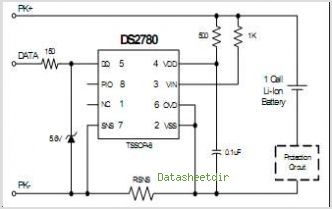 DS2780 circuits