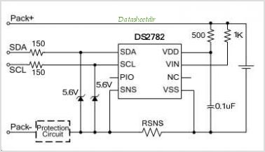 DS2782 circuits