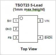 CAT4238TD-GT3 pinout,Pin out