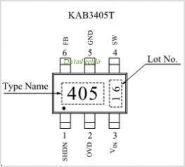 KAB3405T pinout,Pin out