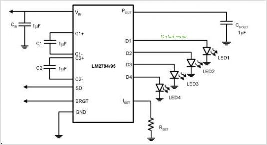 LM2795TLX circuits