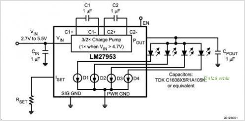 LM27953TLX circuits