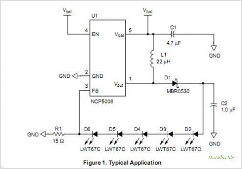 NCP5006 circuits