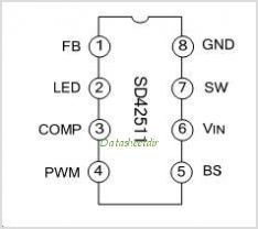 SD42511 pinout,Pin out
