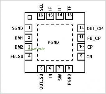 STLD20CP1PQR pinout,Pin out