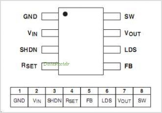 STLD20D pinout,Pin out