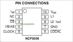 NCP5009 pinout,Pin out