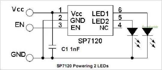 SP7122CEK-L circuits