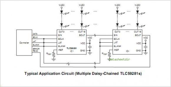 TLC59281RGE circuits