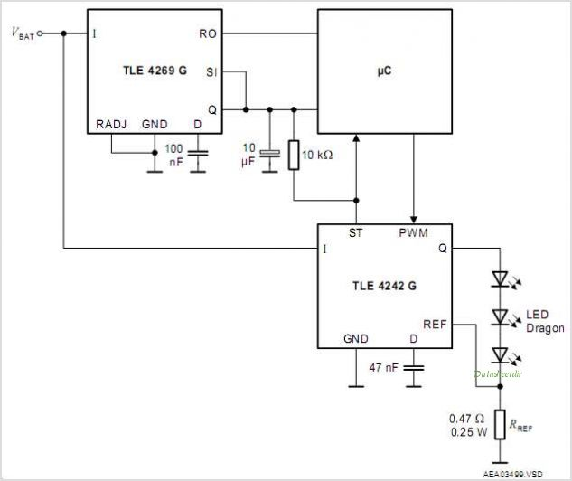 TLE4242G circuits