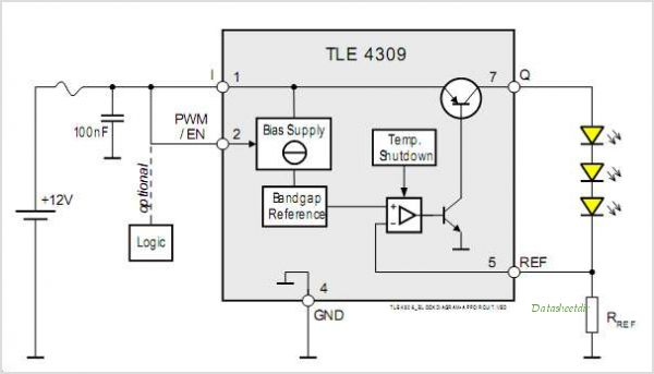TLE4309G circuits