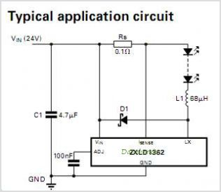 ZXLD1362 circuits