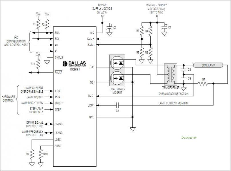 DS3881 circuits