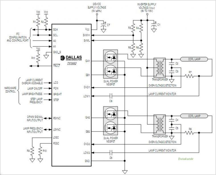 DS3882 circuits