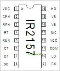 IR2157 pinout,Pin out