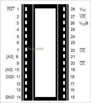 DS1216 pinout,Pin out