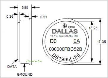 DS1995 pinout,Pin out