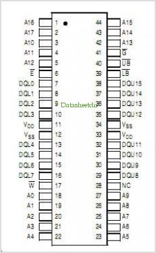 MR2A16A pinout,Pin out