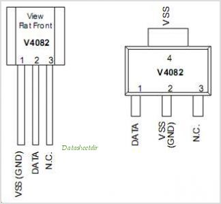 V4082 pinout,Pin out