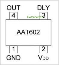 AAT60223A pinout,Pin out