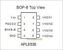 APL6536 pinout,Pin out