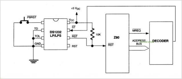 DS1232LPS-2-TRC01 circuits