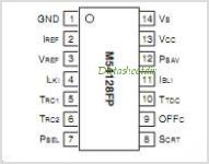 M54128FP pinout,Pin out