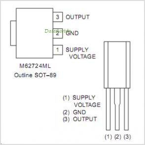M62702ML pinout,Pin out