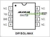 MAX709 pinout,Pin out