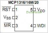 MCP1316MT-29LE-OT pinout,Pin out