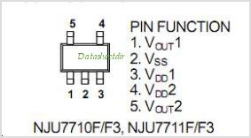 NJU7710 pinout,Pin out