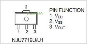 NJU7719U1-21 pinout,Pin out